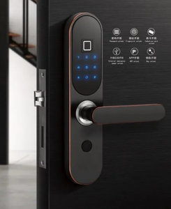 Safe Electric Digital Fingerprint Combination Handle Hotel Smart Door Lock