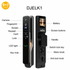 Remote Controller Biometric Fingerprint Door Lock Oem Electronic Door Lock Smart Automatic Smart Door Lock